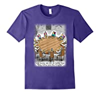 King Arthur & His Knights Of The Round Table, T-shirt Purple