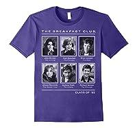 Breakfast Club Year Book Club Photos Graphic Shirts Purple