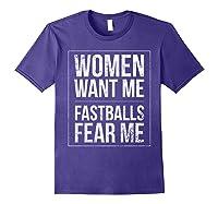 Baseball Player Power Home Run Fastball Hitter Love It Shirts Purple