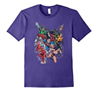 Justice League Refuse To Give Up Shirts Purple
