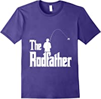 The Rodfather Is On The River This Christmas T-shirt Purple