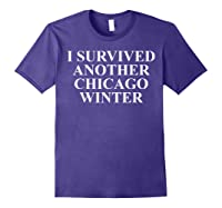 Funny Chicago Tshirts For Gifts For Chicago Residents Purple