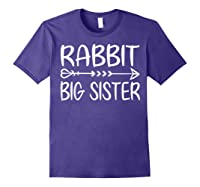 Cute Rabbit Big Sister Shirt I M Going To Be A Big Sister T Shirt Purple