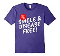 For A Limited Time Only Single Gift Disease Free Tshirt Purple