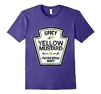 Mustard Condits Group Halloween Costumes T-shirt T-shirt Purple
