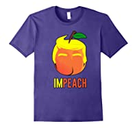 Anti Trump 2020 Vote Dems For Senate Impeach President Premium T Shirt Purple