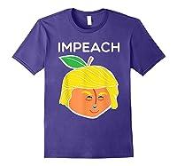 Anti Trump Impeach Dump Trump T Shirt Funny Gifts T Shirt Purple