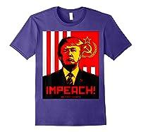 Trump Protest Resist Impeach Russia Propaganda Shirt Purple