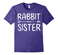 Cute Rabbit Sister Shirt I M Going To Be A Sister T Shirt Purple
