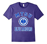 Middle Tennessee State 1911 University Apparel T Shirt Purple