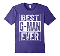 S Best G Man Ever Tshirt Father S Day Gift Purple