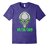 Storm Area 51 See Them Aliens Raid Ufo Cant Stop Us All Shirts Purple