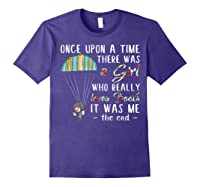 Once Upon A Time There Was A Girl Who Really Loves Books Ts Shirts Purple