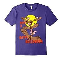 Have A Batty Halloween Happy Halloween Shirts Purple