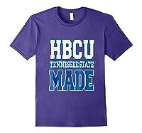 Tennessee Hbcu State University T Shirt Purple
