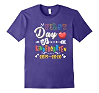 First Day Of Kindergarten Cute Gift For Teas Shirts Purple