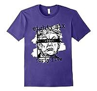 86 45 Impeach Trump Not My President 8645 T Shirt Purple