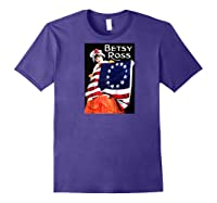 Vintage Independence Day B Boss Ross 4th Of July Baseball Shirts Purple
