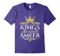 Kings Are Named Ameer T-shirt Purple