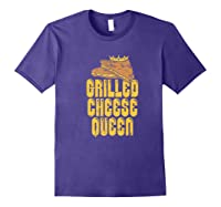 Gift For The Queen Grilled Cheese Maker Of The House Premium T Shirt Purple