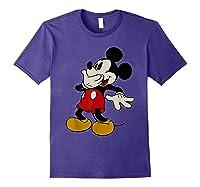 Disney Mickey Mouse Giggle T Shirt Purple