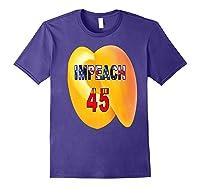 Impeach 45 Premium T Shirt Purple