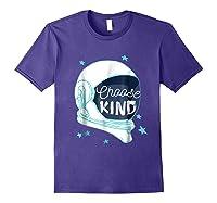 Choose Kindness T-shirt Purple