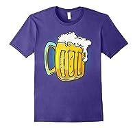 I Like Beer Shirt Professional Drinker Shirt Craft Beer Tee Purple