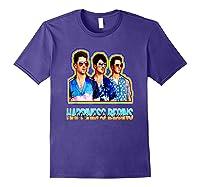 Happiness Begins Tour Music T Shirt Cool Jonas Shirt T Shirt Purple