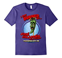 Jose Jalapeno Traverse City Mi T Shirt Purple