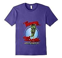 Jose Jalapeno On A Stick Airway Heights Wa T Shirt Purple