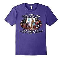Times Square New York City Visit Shirts Purple