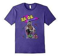 Wwe Nerds - Razor Ramon T-shirt Purple