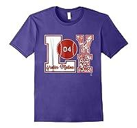 Yadier Molina Love Block T-shirt - Apparel Purple