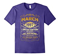March 1997 Vintage 22nd Birthday 22 Years Old Gif Shirts Purple