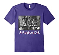 Halloween Horror Team Scary Masks Movies Friends New Shirt Purple