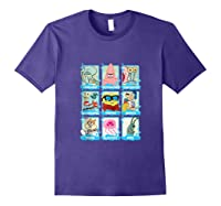 The Look Of Spongebob Characters Shirts Purple