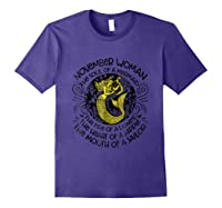November Woman The Soul Of A Mermaid T Shirt Gift For Purple