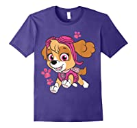 Paw Patrol Skye Jumping T-shirt Purple