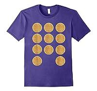 Eleven 11 Waffles T Shirt Tee Purple