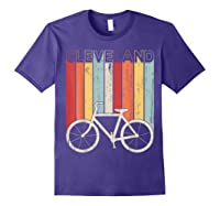 Retro Vintage Cleveland City Cycling Shirt For Cycling Lover Purple