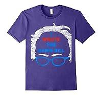 Wrote The Damn Bill Bernie Sanders 2020 Shirts Purple