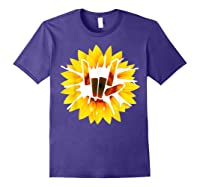 Share Love With Sunflower For And Shirts Purple
