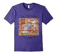 Bathing Burro Shirts Purple