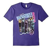 Vintage Backstreet Boy T Shirt Gift Halloween T Shirt Purple