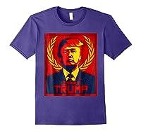 Comrade Trump Protest Resist Impeach Russia Propaganda Shirt Purple