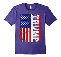 Donald Trump 2020 Vintage Usa Flag Shirts Purple