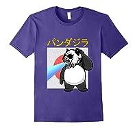 Japanese Vintage Panda Bear Retro Halloween Costume Shirts Purple