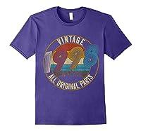 Vintage 21st Birthday Gift Shirt For Classic 1998 T-shirt Purple