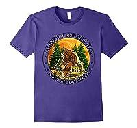 Sasquatch Drinking Team Drink Till You Believe Tshirt Purple